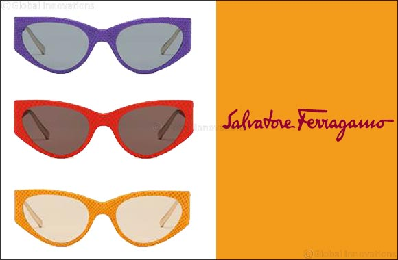 Salvatore Ferragamo Features Leather Sunglasses  In the Spring/summer 2019 Advertising Campaign