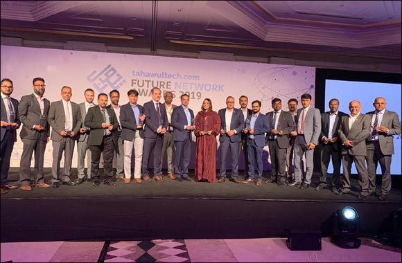 Future Network Awards 2019 Awards Schneider Electric and NPCC under the category 'Networking Project of the Year - Public'