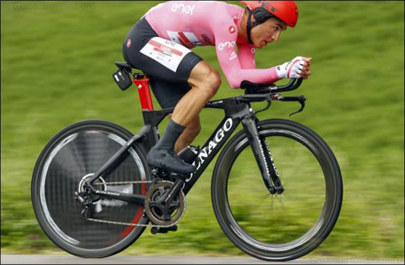 Perfect in Pink: Conti Takes Leaders Jersey Into Rest Day
