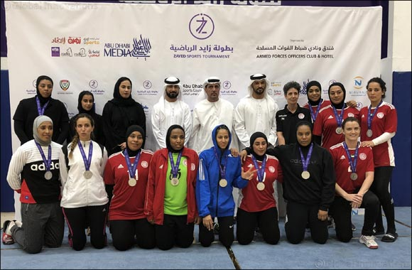 Fatima Bint Mubarak Academy Concludes its Participation in Zayed Sports Tournament