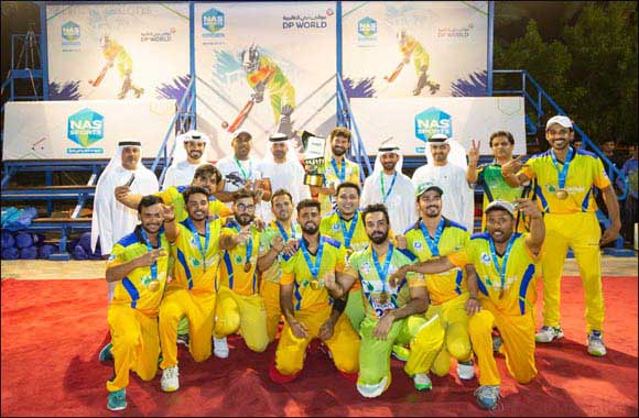 Qudoos leads the way as MGM beat DHL to win first NAS Cricket title