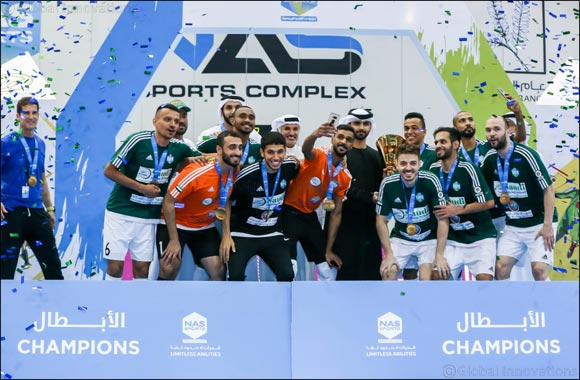 Sheikh Mansoor Bin Mohammed crowns Saudi Driving School as NAS Futsal Champions'