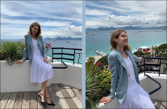Natalia Vodianova in Ralph Lauren