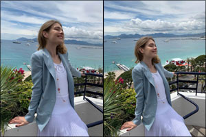 33c01e48a4d2 Dubai, United Arab Emirates - May 26, 2019: Ralph Lauren is pleased to  announce that Natalia Vodianova wore Spring 2019 Collection at Cannes, ...