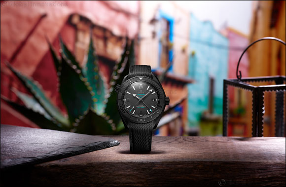 "Omega and Casamigos Tequila and Mezcal Launch New ""deep Black"" Timepiece"