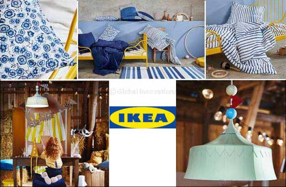 IKEA shares tips to create vibrant kids' rooms that grows with them & encourages creativity