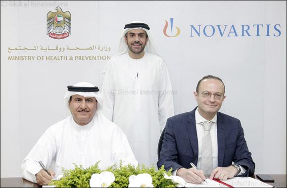 MoHAP and Novartis Ink Agreement to Strengthen the Strategic Drug Stockpile