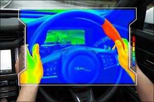 Sensory Steering Wheel Keeps Your Eyes on the Road