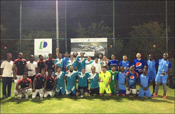 DIP Ramadan Championship – Outdoor Soccer tournament concludes; winners honoured at closing ceremony