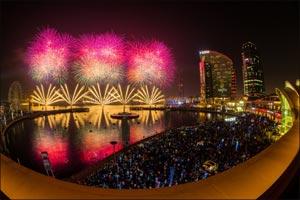 Enjoy Never Seen Before Synchronized Fireworks at Festival Bay this Eid