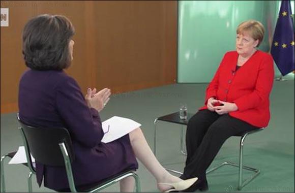 Angela Merkel warns against dark forces on the rise in Europe