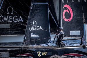 Omega Gets on Board With Alinghi