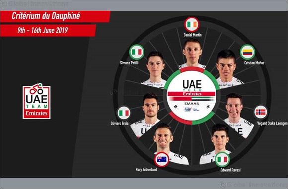 Dan Martin Returns to the Road to Lead UAE Team Emirates at the Criterium Du Dauphine