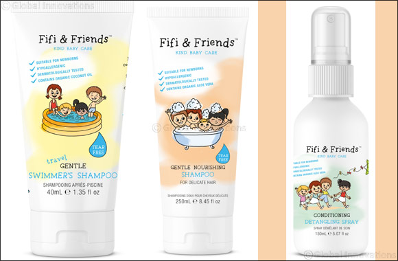 Natural and gentle haircare essentials for your little ones from Fifi & Friends'