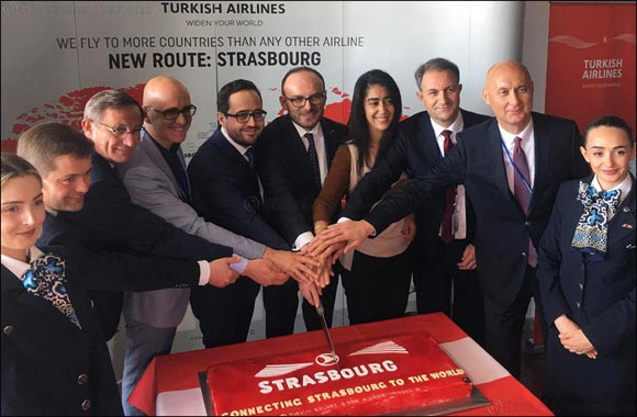 Turkish Airlines added Strasbourg to the list of its destinations in France