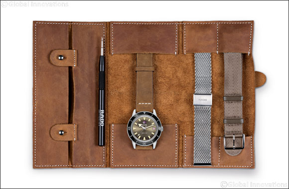 Rado Captain Cook Automatic Limited Edition with travel case'