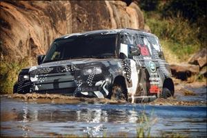 New Land Rover Defender Completes Tusk Testing to Support Lion Conservation in Kenya