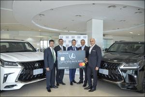 Al-Futtaim Lexus launches the innovative Rewards by Lexus Prepaid Card