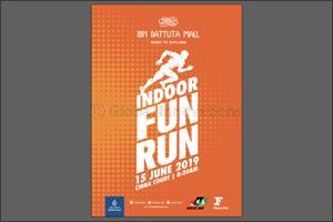 Kickstart your summer workout with Ibn Battuta Mall's free indoor family Fun Run