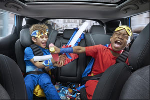 Backseat battles: kids driving their parents to distraction � and danger on the roads, Nissan reveal ...