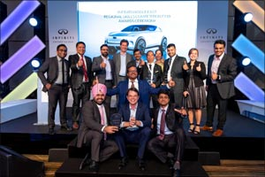 Arabian Automobiles INFINITI team sweeps regional aftersales skills contest with three honours