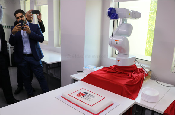 Epson supports robotics research at Middlesex University Dubai