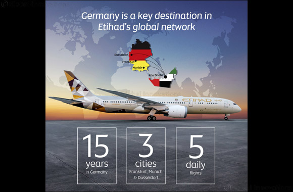 Etihad Airways Celebrates 15 Years in Germany