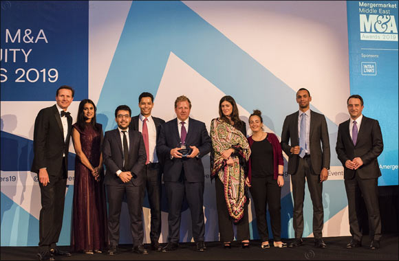 Barclays Named 'Middle East Financial Services Advisor of the Year' in Mergermarket M&A Awards 2019