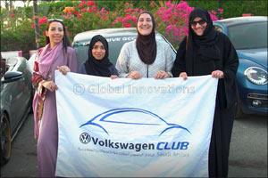 A year on the road: Saudi Women Create First Women's Car Club in the Kingdom