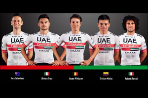 A Big Weekend in Belgium for UAE Team Emirates