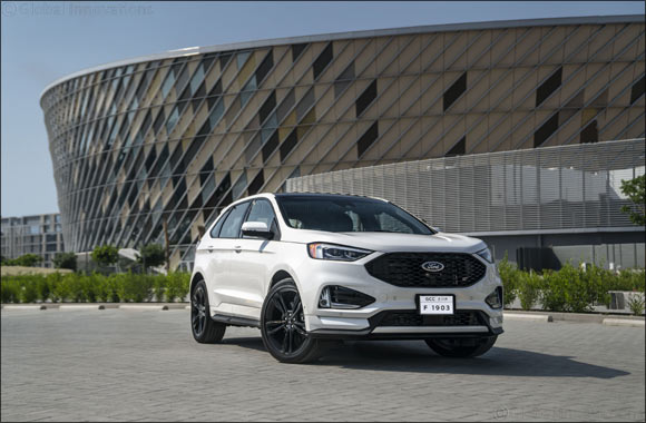 Ford Edge Rolls into UAE Showrooms with ST Performance Credentials and Segment-First Tech, and Ford Co-Pilot360 as Standard