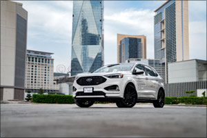 Ford Edge Rolls into UAE Showrooms with ST Performance Credentials and Segment-First Tech, and Ford  ...
