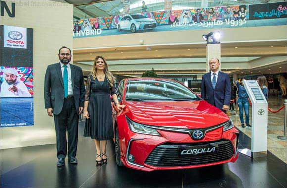The first Toyota Corolla Hybrid Electric ever joins the UAE's Hybrid Nation setting new benchmarks for clean motoring