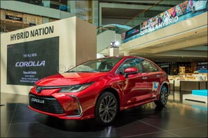 The first Toyota Corolla Hybrid Electric ever joins the UAE's Hybrid Nation setting new benchmarks f ...