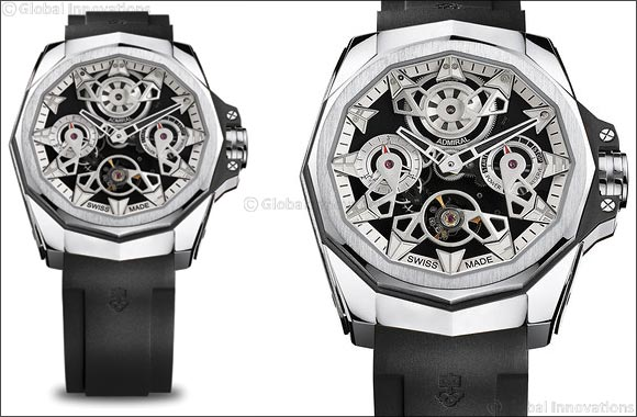 Corum pushes creative boundaries once again with the AC-One 45 Openwork Automatic and Automatic Tourbillon