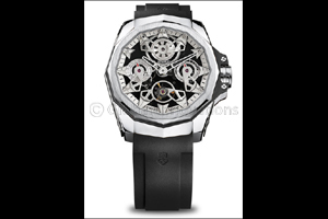 Corum pushes creative boundaries once again with the AC-One 45 Openwork Automatic and Automatic Tour ...