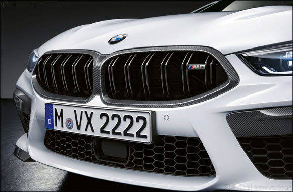 Extensive range of exclusive M Performance Parts further enhance the BMW M8 Coupé and Convertible