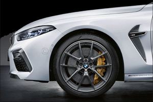 Extensive range of exclusive M Performance Parts further enhance the BMW M8 Coup� and Convertible