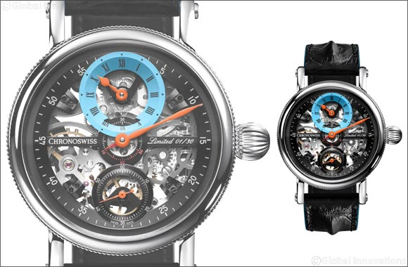 2019 Limited Edition of Flying Grand Regulator Skeleton