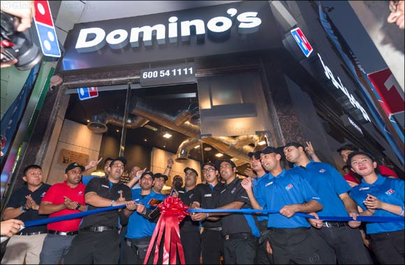 """Domino's Pizza opened its third store in Sharjah"""