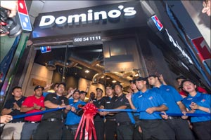 �Domino's Pizza opened its third store in Sharjah�
