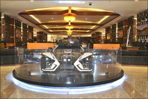 Sahara Centre rewards lucky Emirati customer with grand prize of Polaris Slingshot in �Win Wheels wi ...