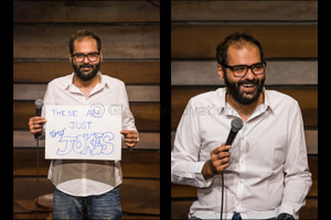 Get ready for a barrel of laughs at BOLLYWOOD PARKS� Dubai with popular Indian stand-up comedian Kun ...