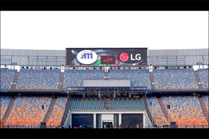 Lg to Display Advanced Led Screens Installed at Newly Renovated Cairo Stadium
