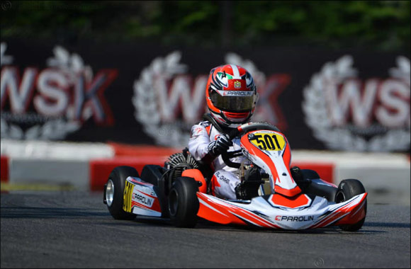 Young UAE Karting Star Rashid Al Dhaheri Achieves podium finish in Lonato, Italy