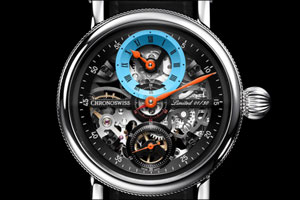 Celebrating the Art of Less 2019 Limited Edition of Flying Grand Regulator Skeleton
