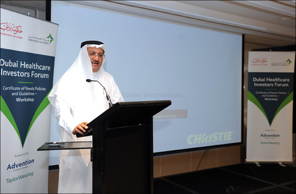 "DHA plans to develop ""Certificate of Need"" guidelines"