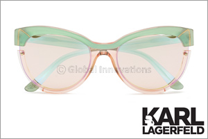 Karl Lagerfeld Eyewear Introduces a New Sunglass Style Inspired by Lagerfeld's Cat Choupette