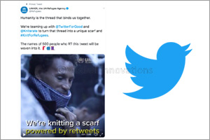 UNHCR and Twitter launch global campaign #KnitForRefugees