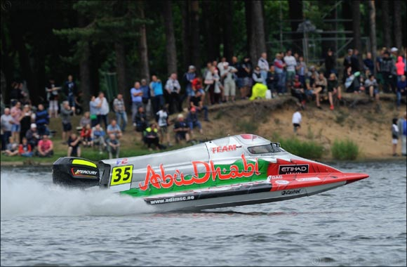 Team Abu Dhabi's Al Qemzi Wins Lithuania Grand Prix